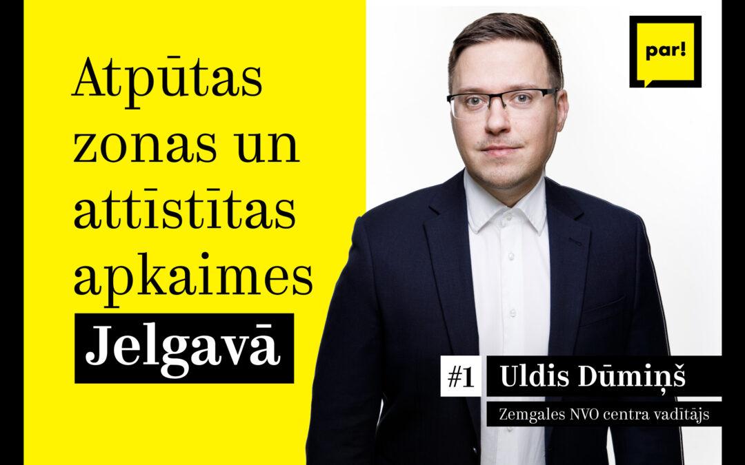 """Kustība """"Par!"""" rosina Jelgavā attīstīt radošo kvartālu un izveidot jaunas zaļās zonas"""