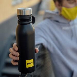 Pudele - termoss siltiem un aukstiem dzērieniem, 600ml