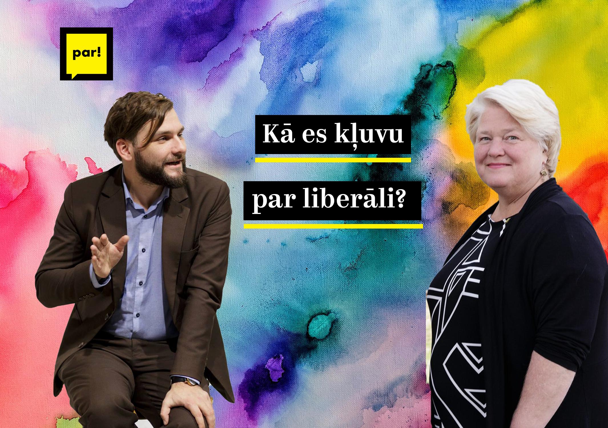Kā es kļuvu par liberāli? Vita Tērauda 24.05.2019.
