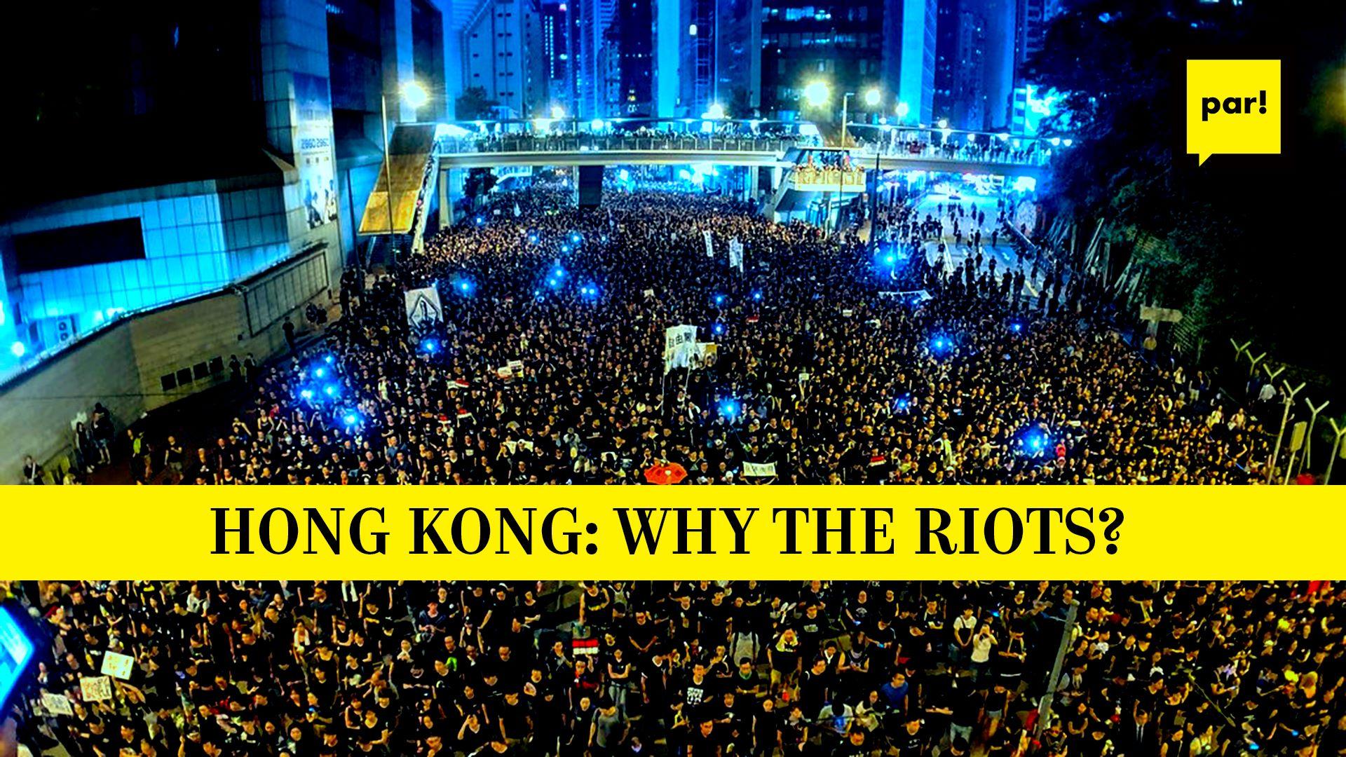 Hong Kong: why the riots? // Saruna angļu valodā 15.07.19.