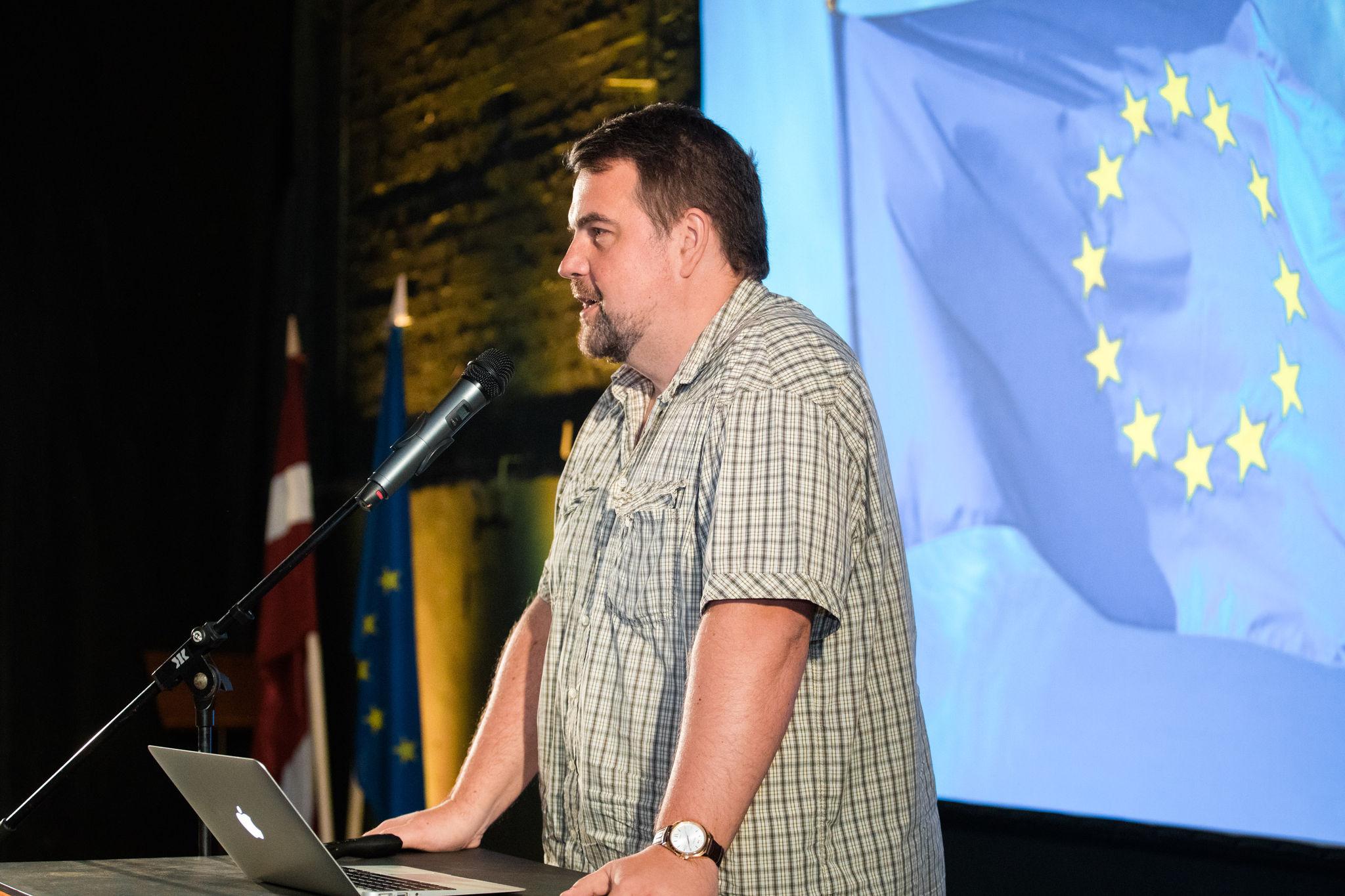 Ivars Ijabs uzsāk darbu Eiropas Parlamentā