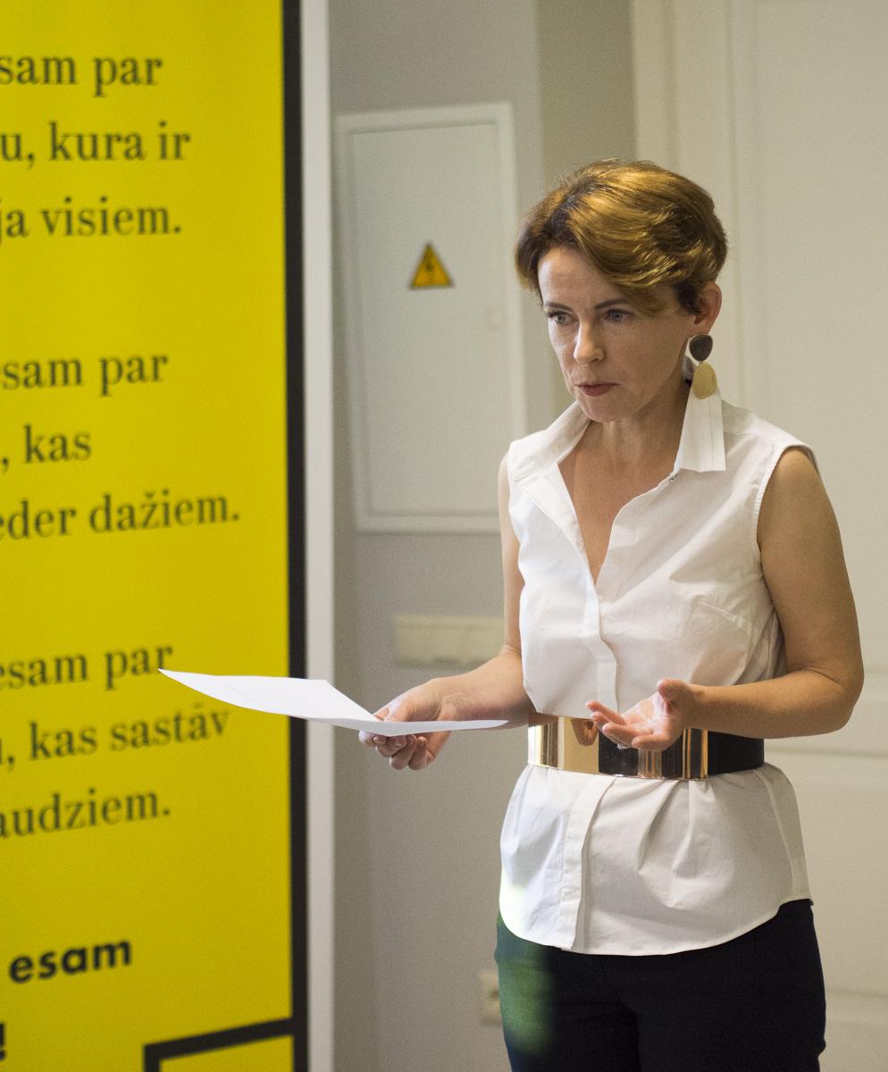 """Kustība """"Par!"""" ievēl Mariju Golubevu par partijas domes priekšsēdētāju"""
