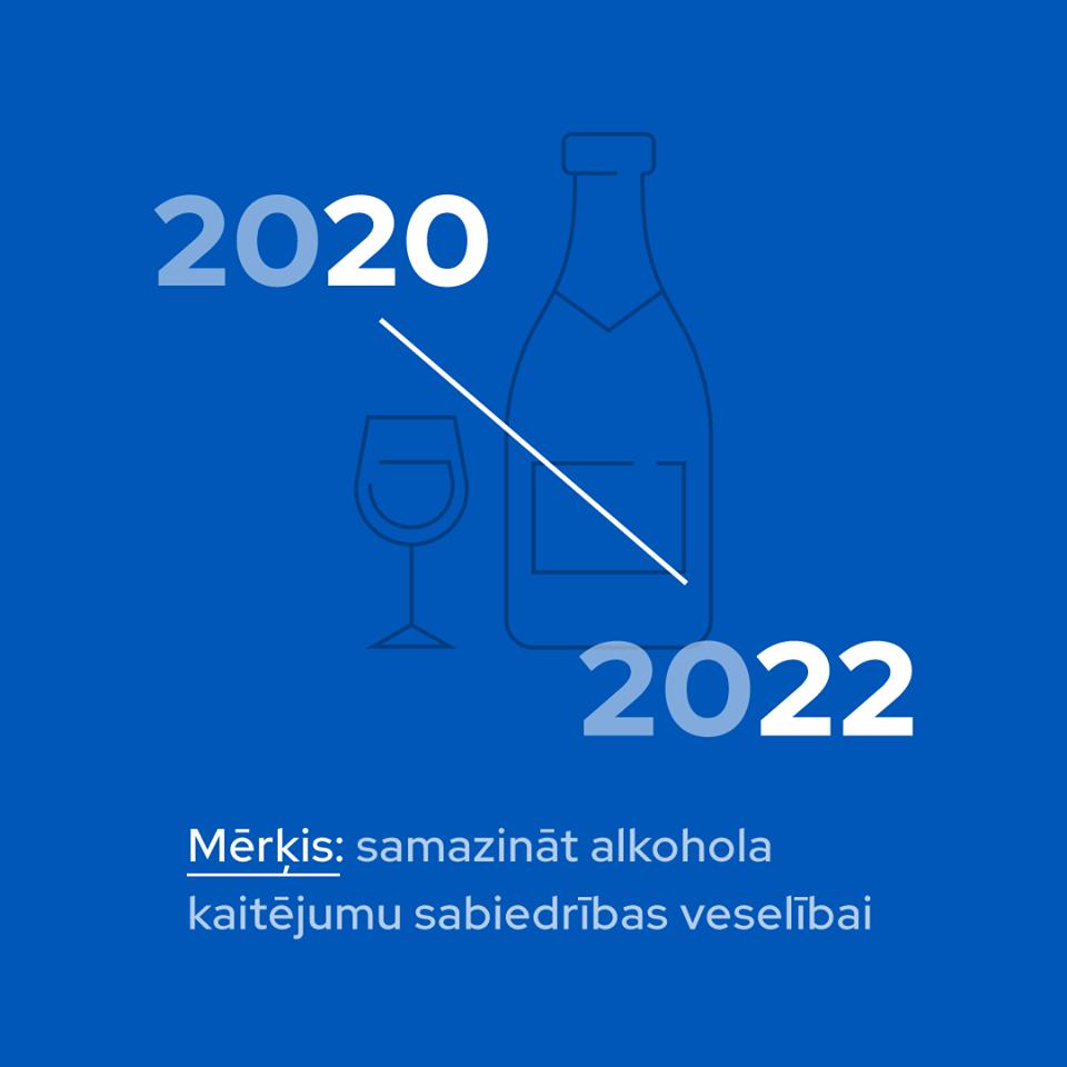 Turpmākajos gados strādās pie alkohola patēriņa samazināšanas