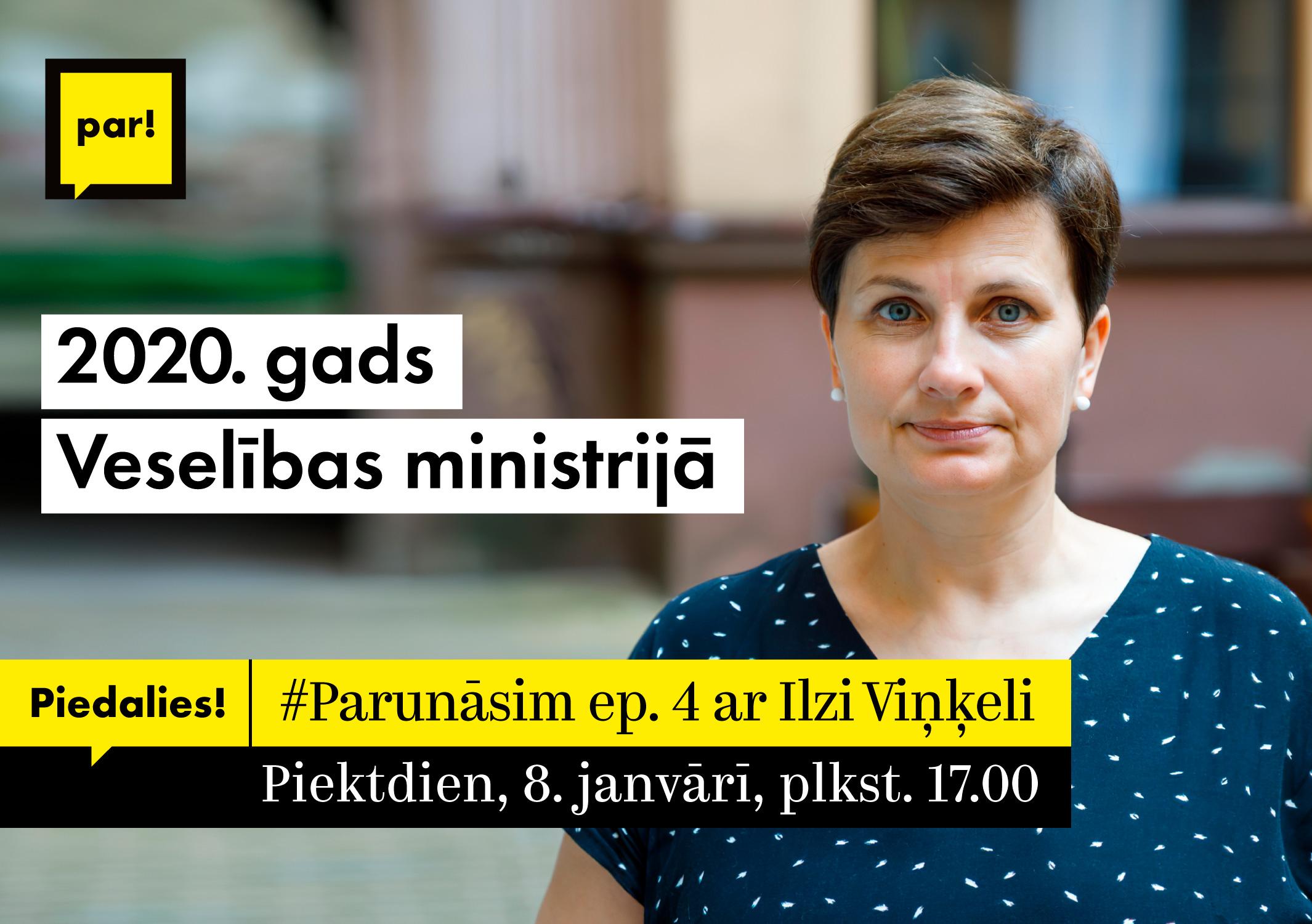 #Parunāsim epizode 4 ar Ilzi Viņķeli