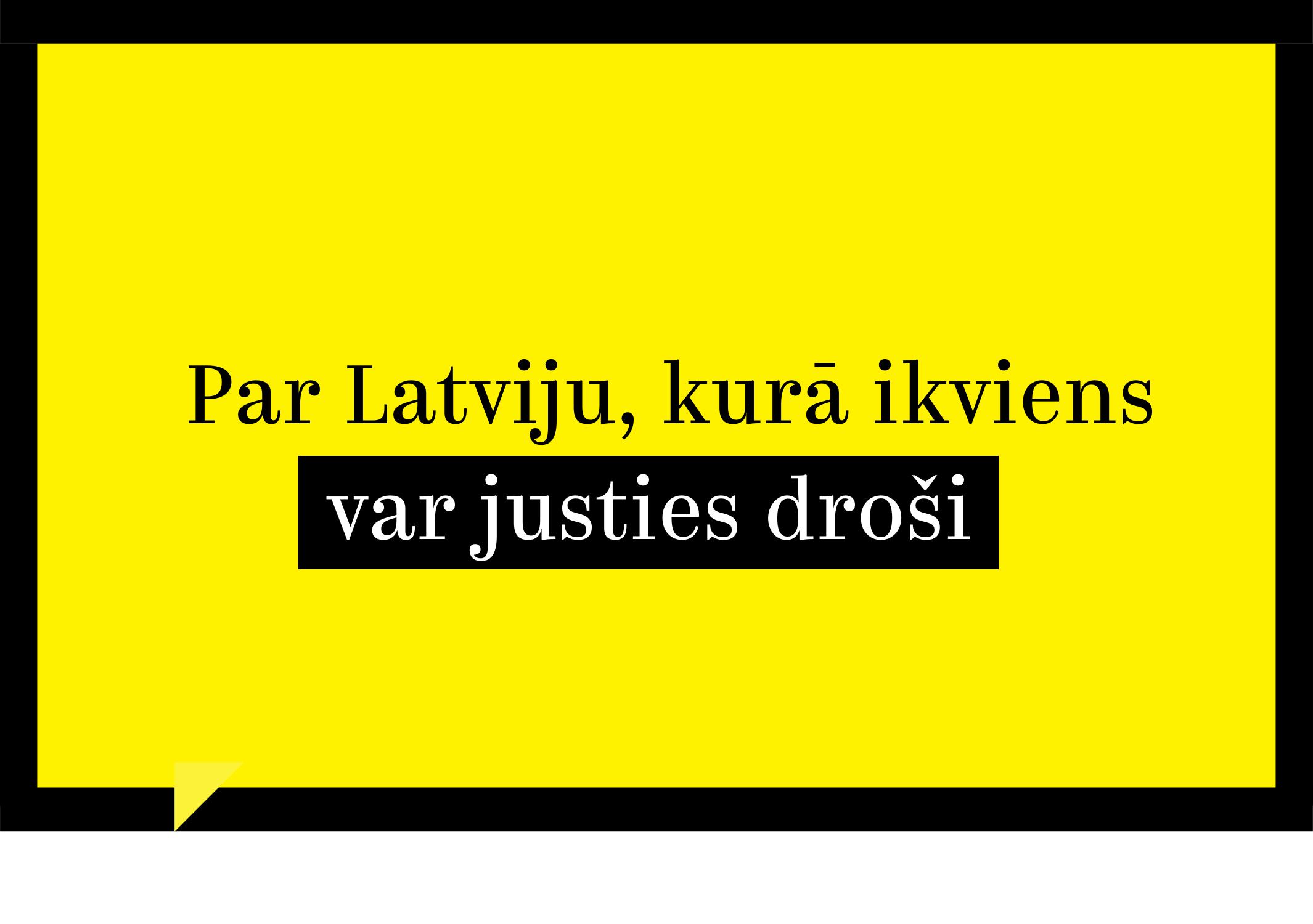 """""""Attīstībai/Par!"""" aicina Krimināllikumā stingrāk vērsties pret naida noziegumiem"""