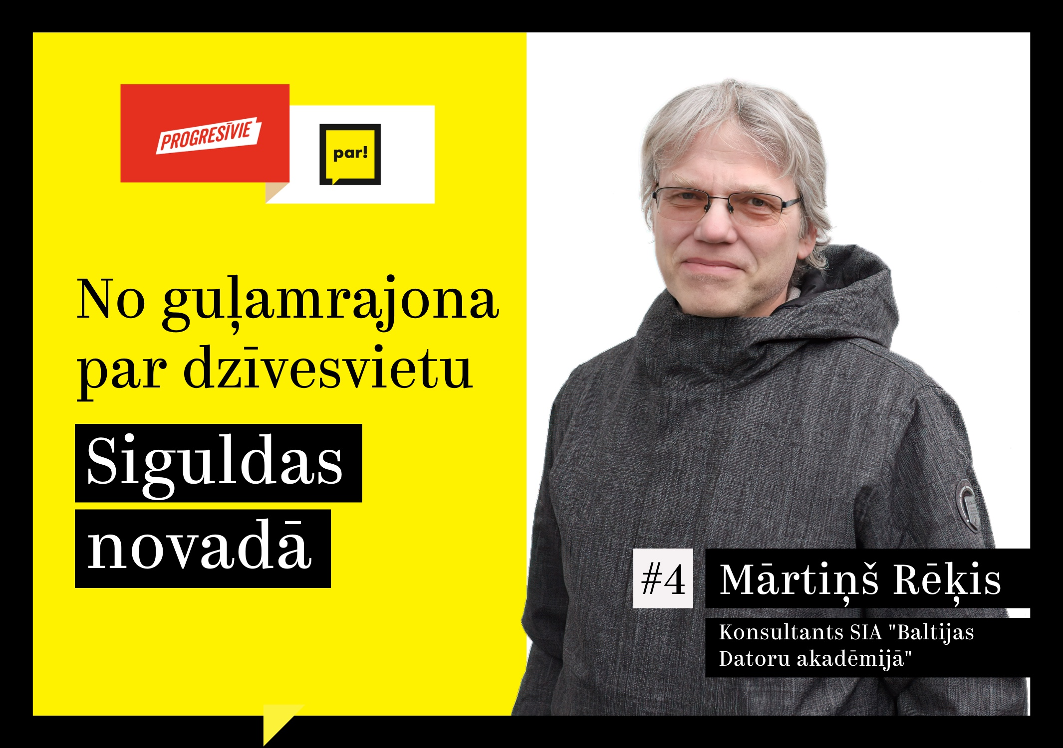 Mārtiņš Rēķis: Siguldas novadam jākļūst par iedzīvotajiem un videi draudzīgāko novadu Latvijā