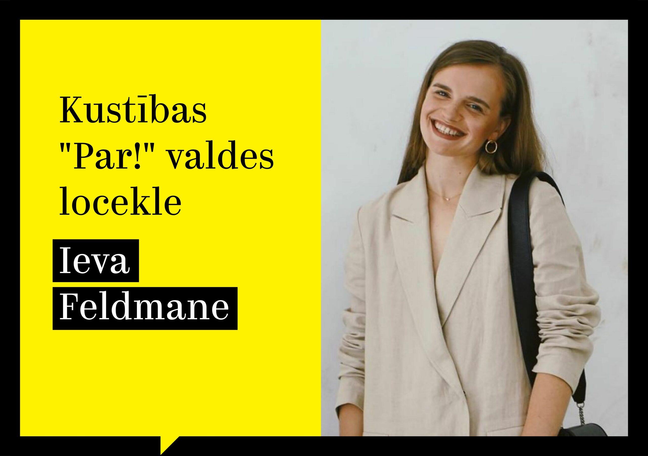 Ieva Feldmane: ja esmu priviliģētā pozīcijā, tad tā ir jāizmanto, lai aizstāvētu mazāk priviliģētos