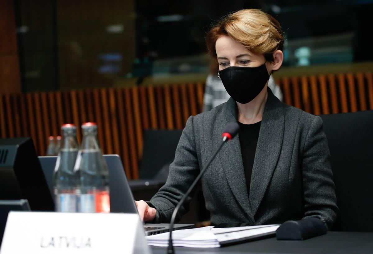 Iekšlietu ministre Marija Golubeva: stipra un droša Eiropas ārējā robeža ir visas Eiropas Savienības, nevis atsevišķu valstu uzdevums